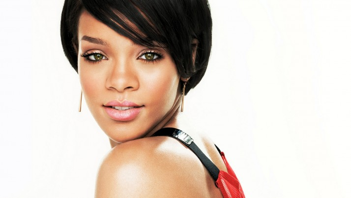 rihanna, haircut earrings wallpapers and stock photos
