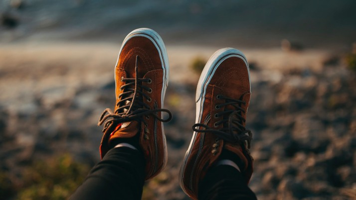 sneakers, legs, blur wallpapers and stock photos