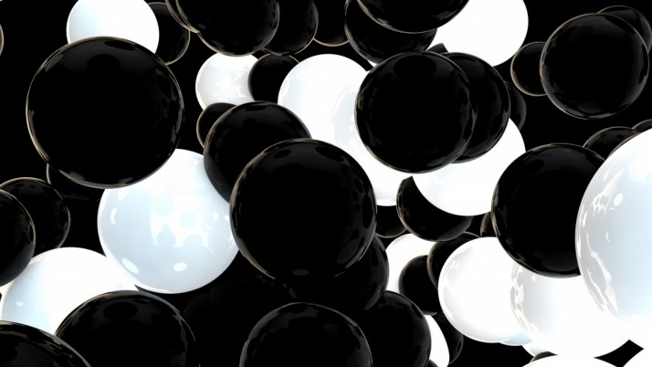 balls, spheres, black, white wallpapers and stock photos