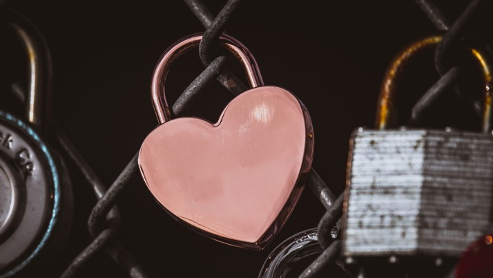 lock, heart, pink wallpapers and stock photos