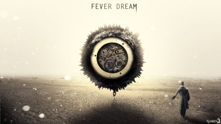 Next: Fever dream, gear, gentleman, digital-art