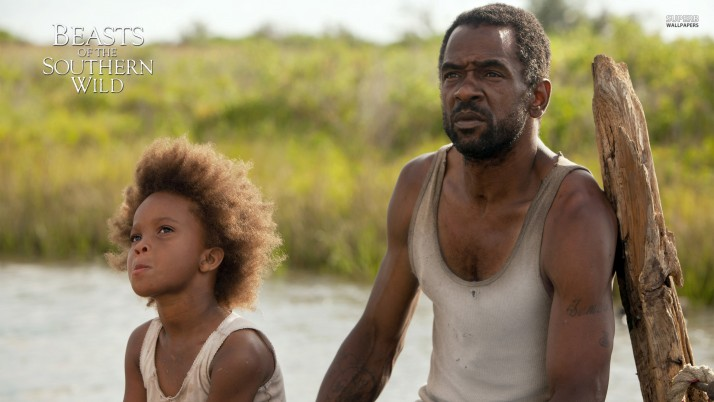 Beasts of the Southern Wild, quvenzhane wallis, dwight henry, hushpuppy, wink, movie, movies wallpapers and stock photos