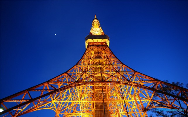 Tokyo Tower, Auflösung, hoch wallpapers and stock photos