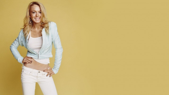 Lindsay Lohan Jeans wallpapers and stock photos