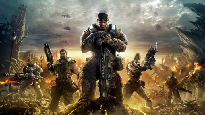 Gears Of War 3, joc wallpapers and stock photos