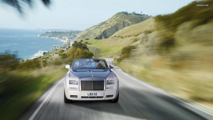 Rolls-Royce Phantom Drophead Coupe Series II 2012, car, cars wallpapers and stock photos