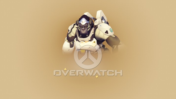 Overwatch Winston, derrick, rose wallpapers and stock photos