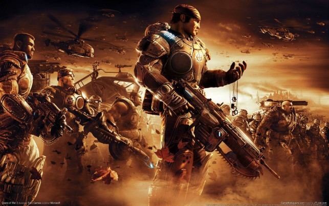 Gears Of War 2  backrounds, awesome wallpapers and stock photos