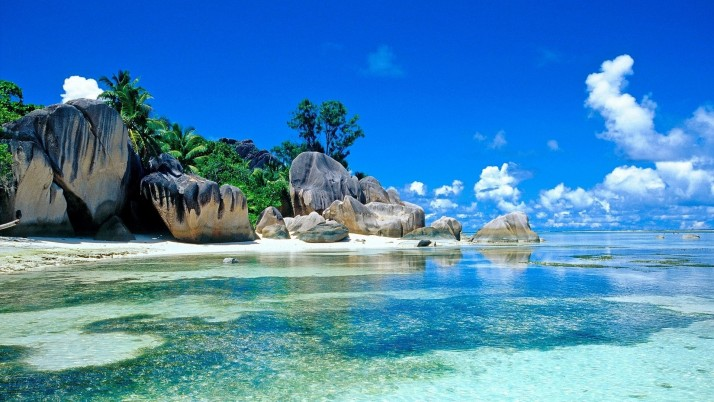 Seychelles Beaches, beautiful, tropical wallpapers and stock photos