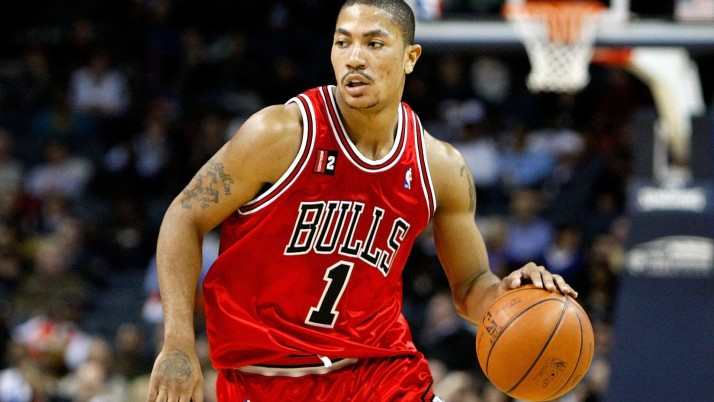 Derrick Rose Chicago Bulls wallpapers and stock photos