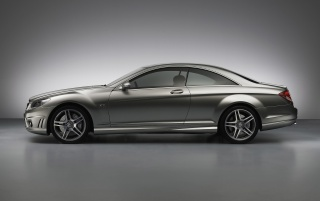 CL65 AMG Side wallpapers and stock photos