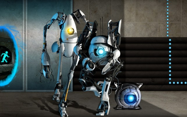 Portal 2, game, paradox, visual wallpapers and stock photos