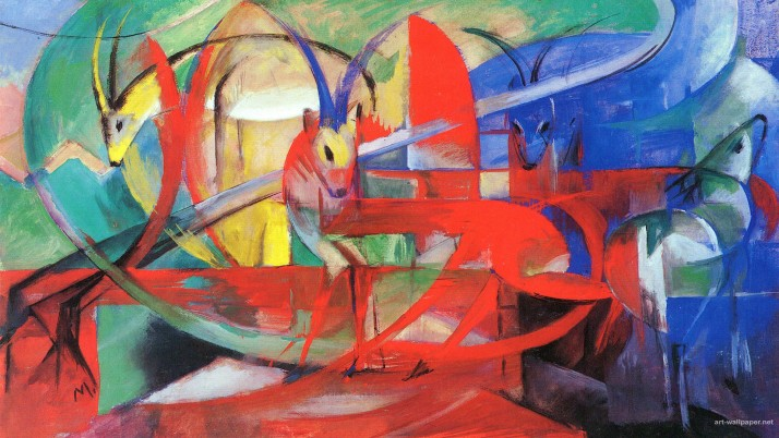 Franz Marc, art,  painting, artist wallpapers and stock photos