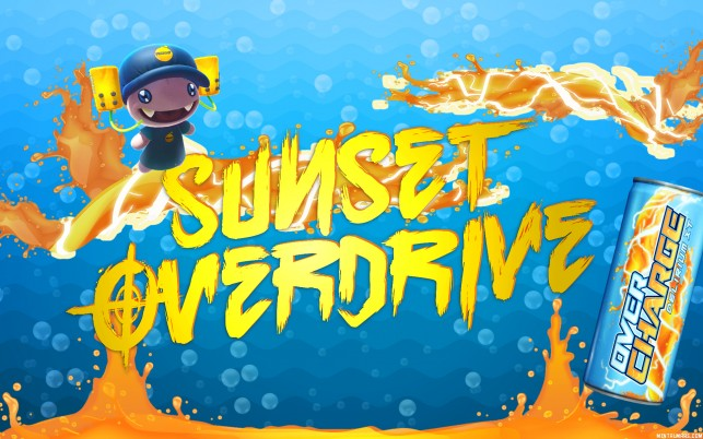 Sunset Overdrive Iphone wallpapers and stock photos