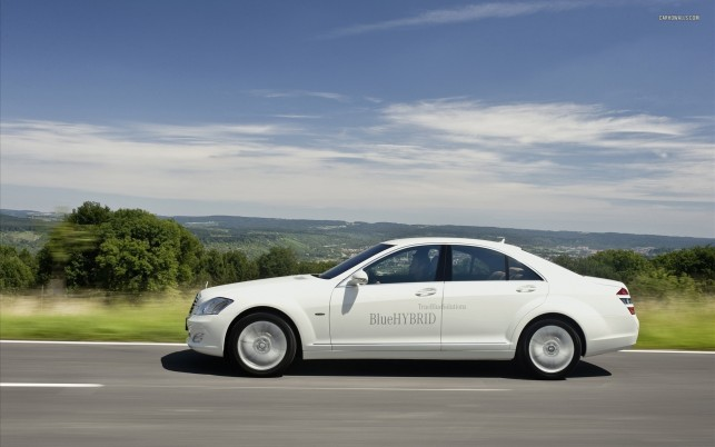 Mercedes-Benz S-Klasse W221 S400 BlueHybrid 2010, Auto, Autos wallpapers and stock photos