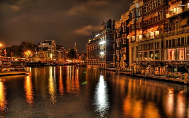 Venecia de noche, italia, gran canal, mundo wallpapers and stock photos