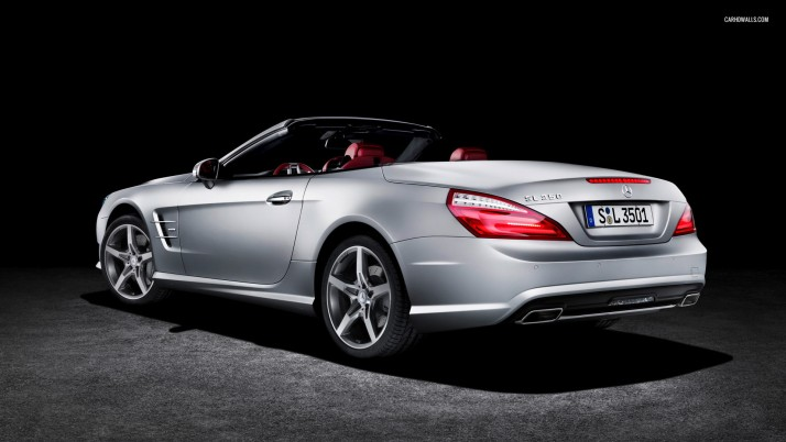 Mercedes-Benz SL-Class SL 350 2012, car, cars wallpapers and stock photos