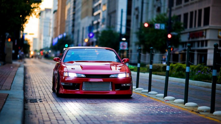 Nissan Silvia S14, artistic wallpapers and stock photos
