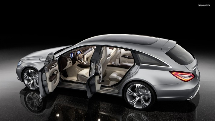 Mercedes-Benz CLS-Class W218 Shooting Brake, car, cars wallpapers and stock photos