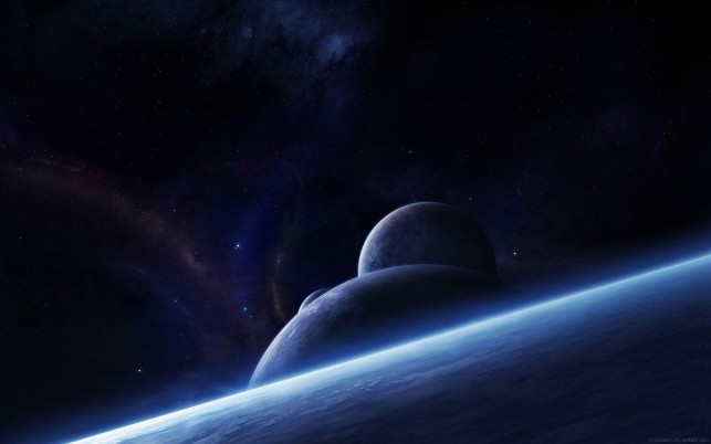 Windows 7 planets wallpapers and stock photos