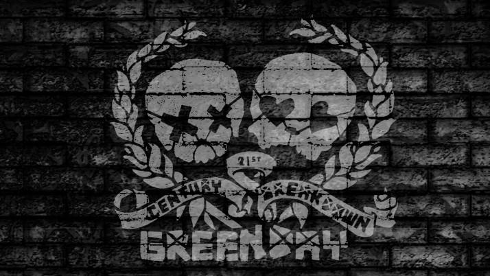 Green Day Uno Dos Tre, skulls wallpapers and stock photos
