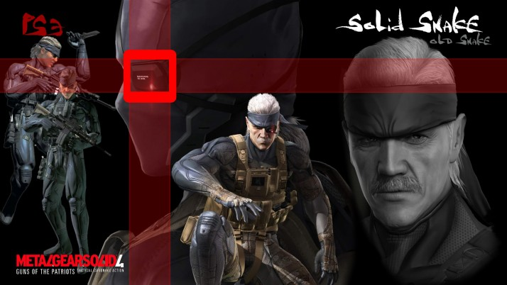 Metal Gear Solid 4 Old Snake, message, board, playstation wallpapers and stock photos