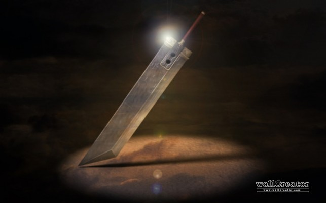 Buster Sword, final fantasy, trabajando. wallpapers and stock photos