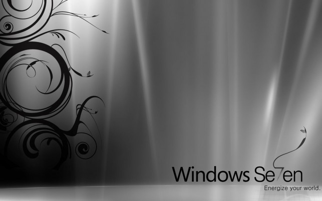 Für Windows 7 Silber wallpapers and stock photos