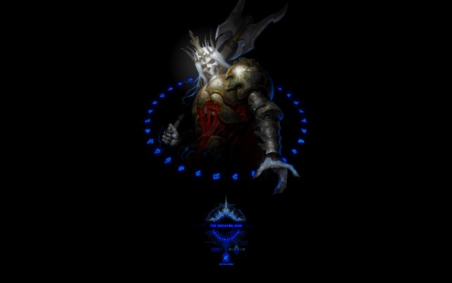 Diablo III -Skeleton King, game, games wallpapers and stock photos