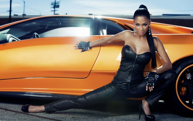 Nicole Scherzinger, lamborghini, stunning wallpapers and stock photos