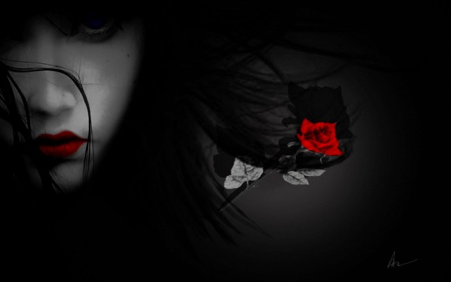 Red Lips Red Rose, people wallpapers and stock photos