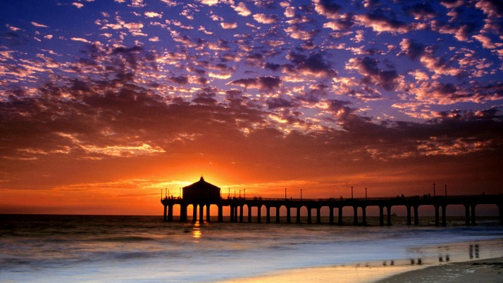 California, cool,  beach, colorful wallpapers and stock photos