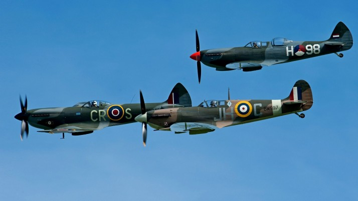 Spitfire, aircraft, plane wallpapers and stock photos