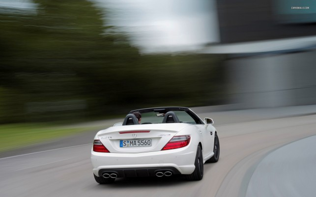 Mercedes-Benz SLK-Class SLK 55 AMG 2012, car, cars wallpapers and stock photos