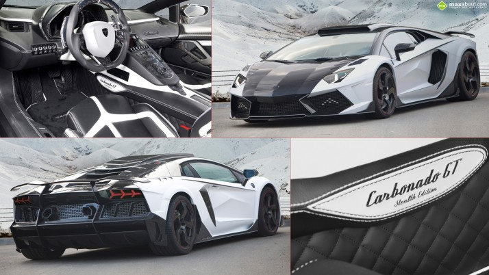 Mansory Lamborghini Aventador Carbonado GT Stealth Edition, cars wallpapers and stock photos