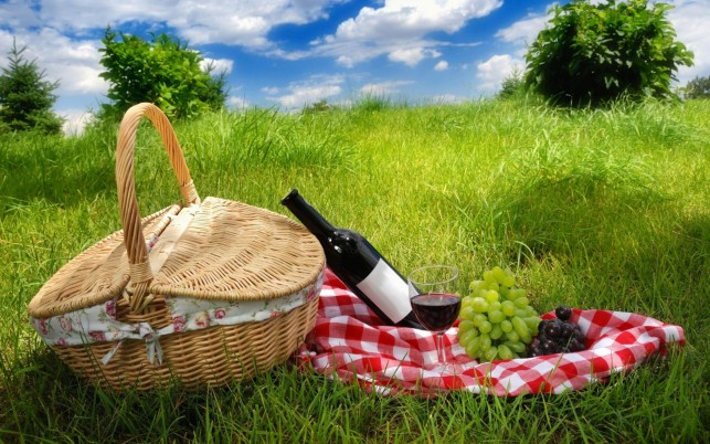 Picnic Basket wallpapers and stock photos
