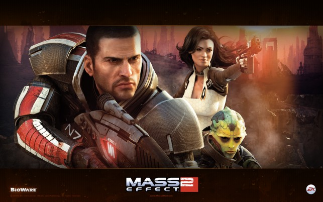 Mass Effect 2, media, click wallpapers and stock photos