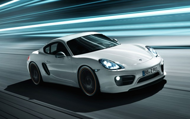 Porsche Cayman 2013 wallpapers and stock photos