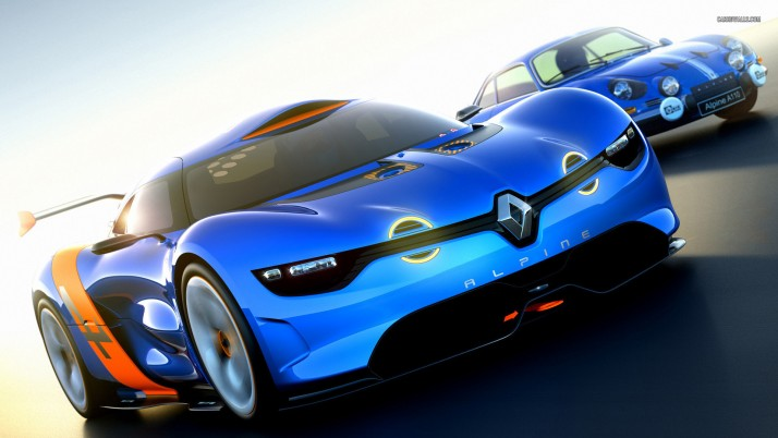 Alpine A110 A110-50 Concept 2012, car, cars wallpapers and stock photos