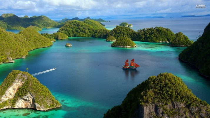 Raja Ampat Islands, indonesia, asia, summer, beach, beaches wallpapers and stock photos
