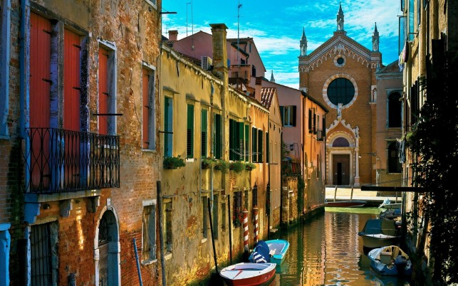Venedig, Stadtbild, Italien, Europa, Welt wallpapers and stock photos