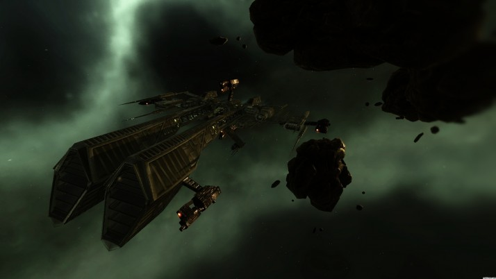 Eve Online Rifter wallpapers and stock photos