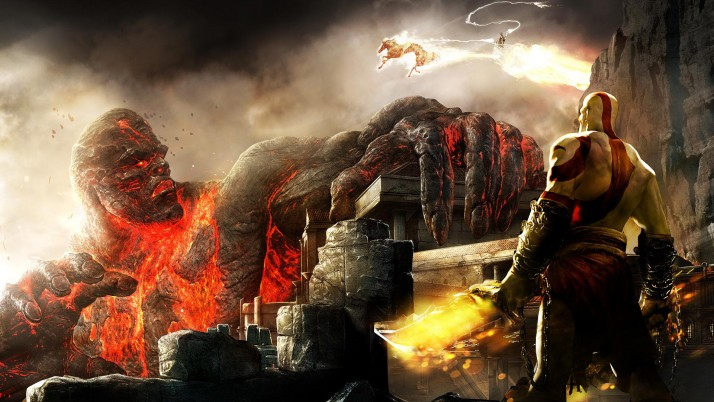 God Of War, Riese wallpapers and stock photos