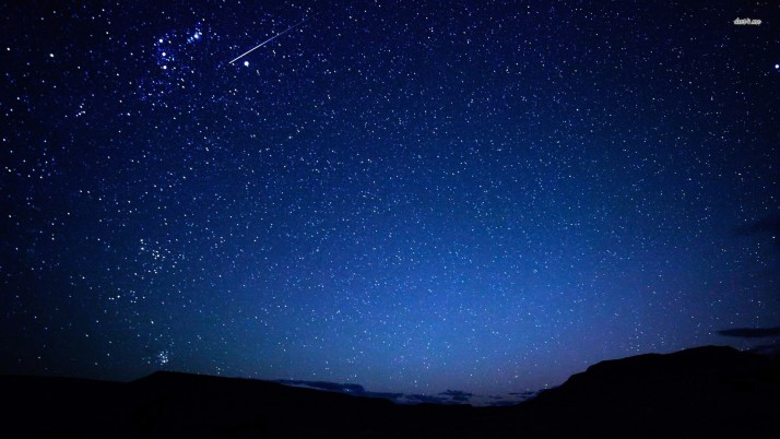 Stars in the sky, night, nature wallpapers and stock photos