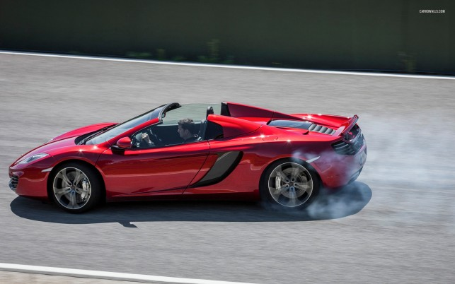 McLaren MP4-12C Spider 2013, car, cars wallpapers and stock photos