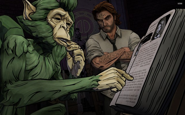 The Wolf Among Us, game, games wallpapers and stock photos