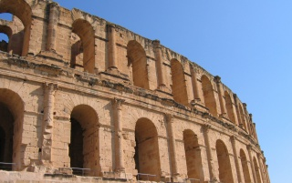 Roman Coliseum wallpapers and stock photos