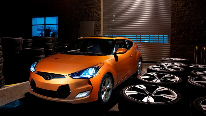 2014 Hyundai Veloster, car, cars wallpapers and stock photos