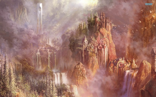 Aion: The Tower of Eternity, game, games wallpapers and stock photos