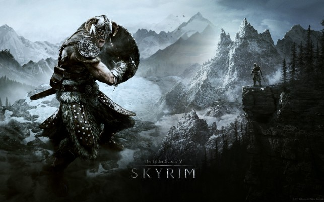 Elder Scrolls V Skyrim, ninja, game wallpapers and stock photos